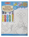 Melissa & Doug Canvas Religious Painting Set