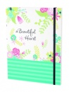 Beautiful Heart Notebook Journal