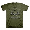 Tee Shirt-War Room/Awaken The Warrior-Large-Milita