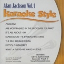 Karaoke Style: Alan Jackson, Vol. 1