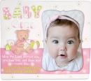 Baby Blessings Photo Frame (Girls)