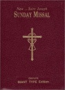 St. Joseph: Missal Leather | Burgundy