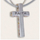 Faith :Sterling Silver