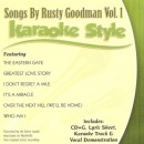 Karaoke Style: Songs By Rusty Goodman, Vol. 1 image