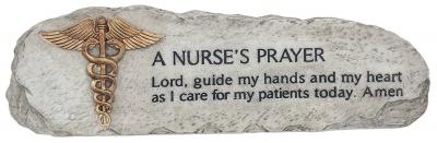 Nurse's Prayer Plaque