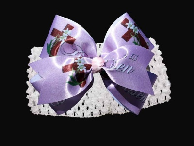 Easter Hair Bow (Band)