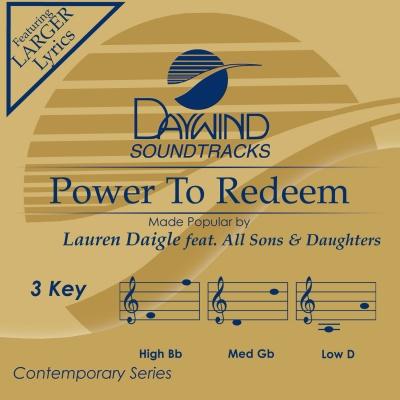 Power To Redeem