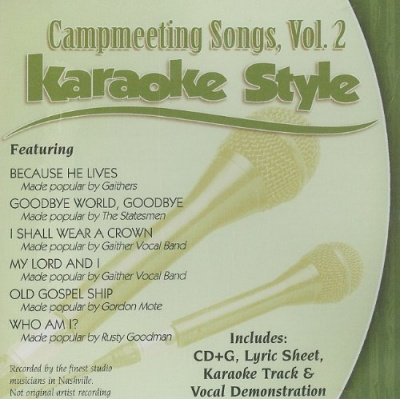 Karaoke Style: Campmeeting Songs, Vol. 2