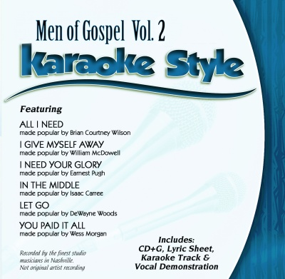 Karaoke Style: Men Of Gospel Vol. Two