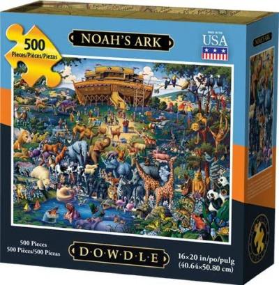 Noah's Ark 500 Piece Puzzle