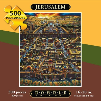Jerusalem Jigsaw Puzzle (500 Pieces)