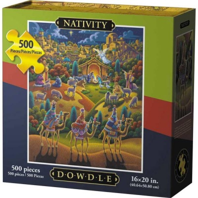 Nativity 500 Piece Puzzle