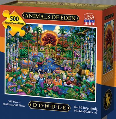 Animals of Eden 500 Piece Puzzle