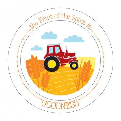 Fruit-Full Kids Plate: Goodness