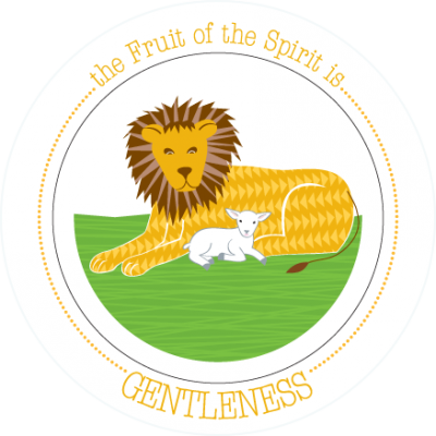 Fruit-Full Kids Plate: Gentleness
