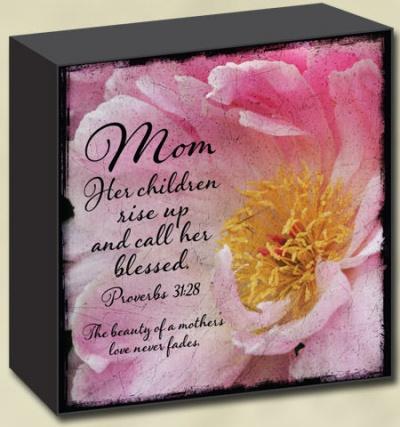 Mom Lightscape Box Print
