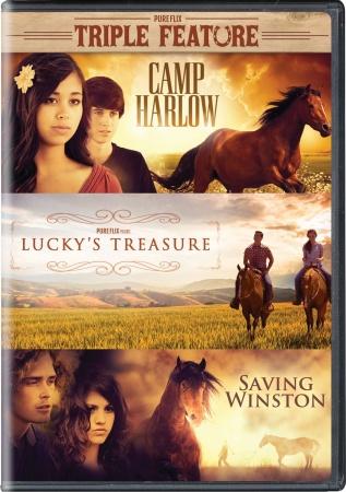 Triple Feature: Camp Harlow, Lucky's Treasure, Saving Winston