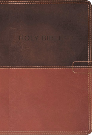 NKJV Know The Word: Study Bible (Brown Leather)