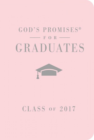 God's Answers for the Graduate: Class of 2017 (Pink New King James Version)