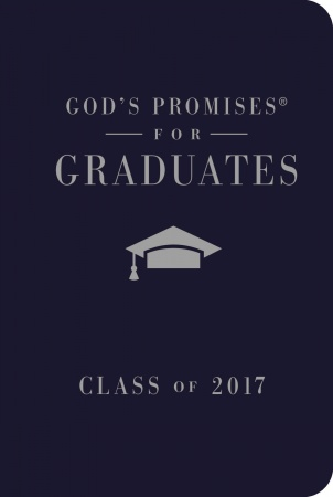 God's Answers for the Graduate: Class of 2017 (Navy New King James Version)