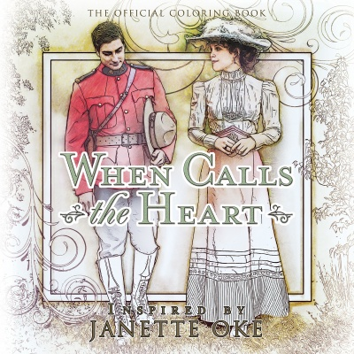 When Calls The Heart Official Coloring Book