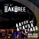 Live at Oak Tree: Aaron & Amanda Crabb (CD+DVD)